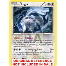 Lugia 78/124 Fates Collide Extended Art Custom Pokemon Card