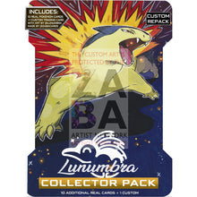 Lunumbra Collector Pack - Pokemon Cards + Extended Art Reprint Typhlosion Custom Packs
