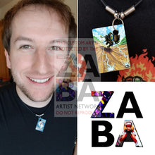 Luxray 46/122 Xy Breakpoint Extended Art Custom Pokemon Card 18 Necklace (Pic For Reference)