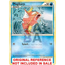 Magikarp 61/95 Call Of Legends Extended Art Custom Pokemon Card