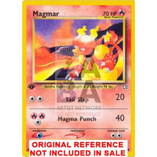 Magmar 40/111 Neo Genesis Extended Art Custom Pokemon Card