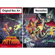 Magmus & Charley (Super Metroid Samus Ridley) 10X8 Holographic Poster + Custom Card Gift Set Pokemon