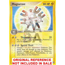Magneton 27/112 Fire Red & Leaf Green Extended Art Custom Pokemon Card