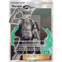 Marolak (Trainer) Custom Pokemon Card Silver Holographic
