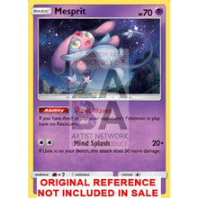 Mesprit 42/131 Forbidden Light Extended Art Custom Pokemon Card