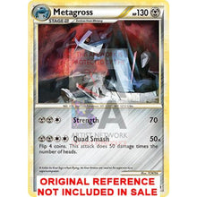 Metagross 18/90 Undaunted Extended Art Custom Pokemon Card