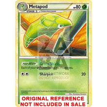 Metapod 46/123 Heartgold & Soulsilver Extended Art Custom Pokemon Card