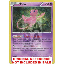 Mew 29/124 Xy Fates Collide Extended Art Custom Pokemon Card
