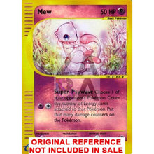 Mew 55/165 Expedition Extended Art Custom Pokemon Card