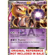 Mewtwo Ex Bw45 Promo Extended Art Custom Pokemon Card