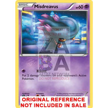 Misdreavus 65/162 Xy Breakthrough Extended Art Custom Pokemon Card