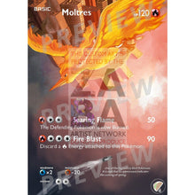 Moltres 22/113 Legendary Treasures Extended Art Custom Pokemon Card