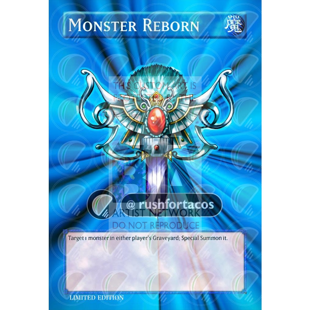 Monster Reborn Full Art Orica - Custom Yu-Gi-Oh! Card