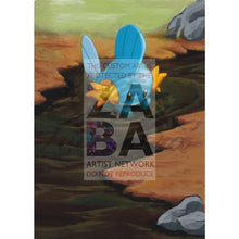 Mudkip 116/153 Platinum Supreme Victors Extended Art Custom Pokemon Card Textless Silver Holographic