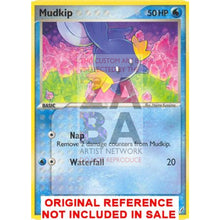 Mudkip 58/100 Crystal Guardians Extended Art Custom Pokemon Card