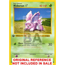 Nidoran 55/102 Base Extended Art Custom Pokemon Card