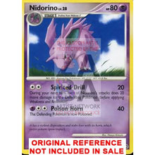Nidorino 57/132 Secret Wonders Extended Art Custom Pokemon Card