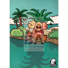 Ooyama Exeggutor 109/108 Evolutions Extended Art Custom Pokemon Card Silver Holographic