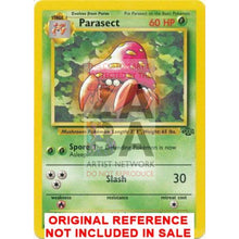 Parasect 41/64 Jungle Extended Art Custom Pokemon Card
