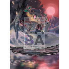 Phantump 6/145 Guardians Rising Extended Art Custom Pokemon Card Silver Holographic Textless