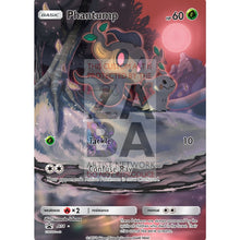 Phantump 6/145 Guardians Rising Extended Art Custom Pokemon Card Silver Holographic