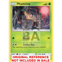 Phantump 6/145 Guardians Rising Extended Art Custom Pokemon Card