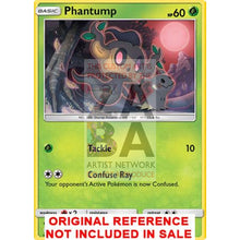 Phantump Guardians Rising 6/145 Extended Art Custom Pokemon Card