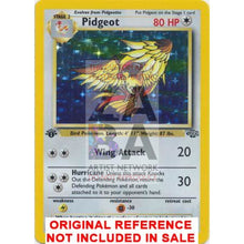 Pidgeot 8/64 Jungle Extended Art Custom Pokemon Card
