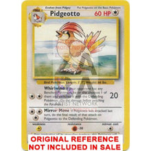 Pidgeotto 22/102 Base Extended Art Custom Pokemon Card