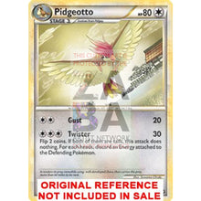 Pidgeotto 47/103 Triumphant Extended Art Custom Pokemon Card