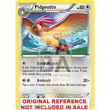 Pidgeotto 76/106 Flashfire Extended Art Custom Pokemon Card