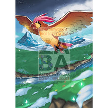 Pidgeotto 76/106 Flashfire Extended Art Custom Pokemon Card Silver Foil / Textless