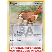 Pidgey Fire Red & Leaf Green 73/112 Extended Art Custom Pokemon Card
