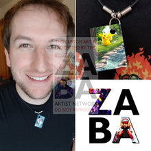 Pikachu 48/162 Xy Breakthrough Extended Art Custom Pokemon Card 18 Necklace (Pic For Reference)