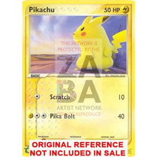 Pikachu 72/100 Sandstorm Extended Art Custom Pokemon Card
