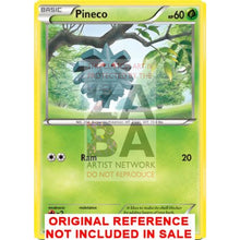 Pineco 4/106 Xy Flashfire Extended Art Custom Pokemon Card