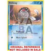 Poliwag 67/115 Unseen Forces Extended Art Custom Pokemon Card