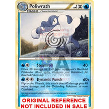 Poliwrath 21/96 Hs Unleashed Extended Art Custom Pokemon Card