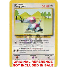 Porygon 39/102 Base Extended Art Custom Pokemon Card