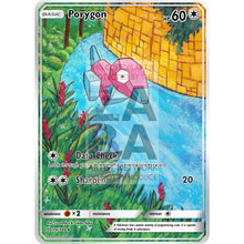 Porygon 64/98 Xy Ancient Origins Extended Art Custom Pokemon Card Non-Holographic