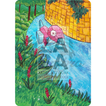 Porygon 64/98 Xy Ancient Origins Extended Art Custom Pokemon Card Textless Silver Holographic