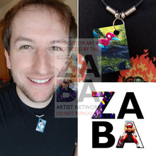 Porygon2 104/147 Burning Shadows Extended Art Custom Pokemon Card 18 Necklace (Pic For Reference)