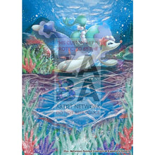 Primarina 41/149 Sun & Moon Extended Art Custom Pokemon Card Silver Holo