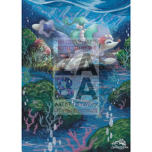 Primarina 41/149 Sun & Moon Extended Art Custom Pokemon Card Textless Silver Holographic
