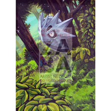 Pupitar 42/124 Xy Fates Collide Extended Art Custom Pokemon Card Textless Silver Holographic