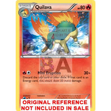Quilava 19/162 Xy Breakthrough Extended Art Custom Pokemon Card