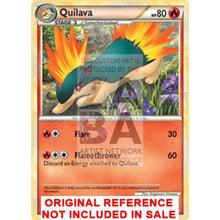 Quilava 49/95 Call Of Legends Extended Art Custom Pokemon Card