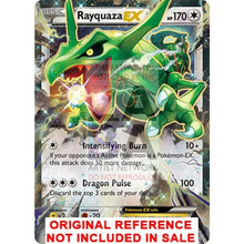 Rayquaza Ex 75/108 Roaring Skies Extended Art Custom Pokemon Card