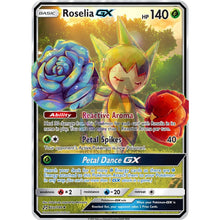 Roselia Gx Custom Pokemon Card Thick Flower