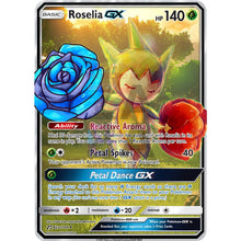 Roselia Gx Custom Pokemon Card Thin Flower